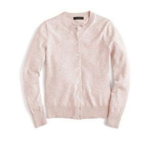 J. Crew Cotton Jackie Cardigan Sweater